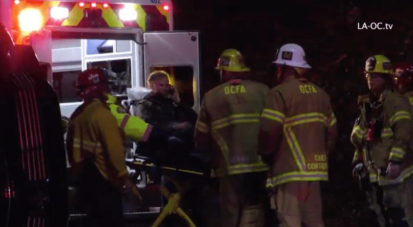 Will Ferrell crash footage via LA-OC.tv