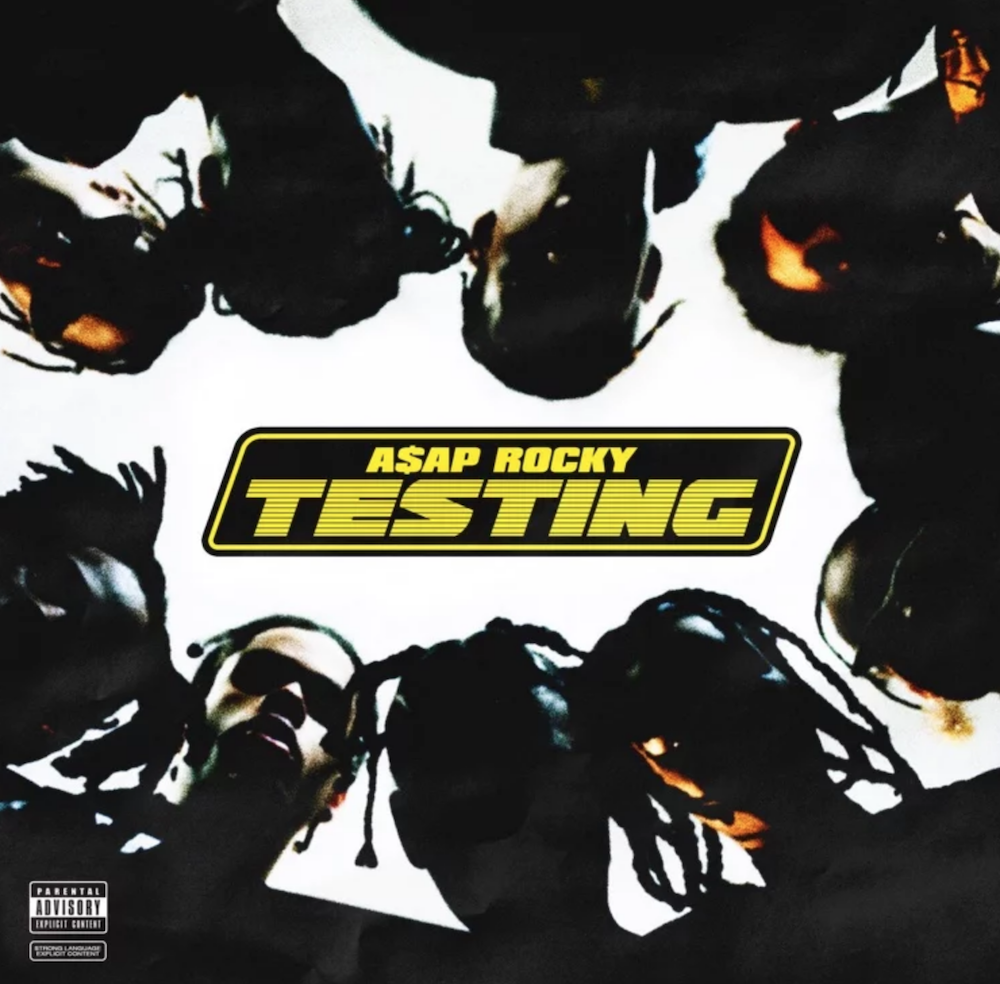 asap rocky testing album artwork ASAP Rocky premieres new album Testing: Stream