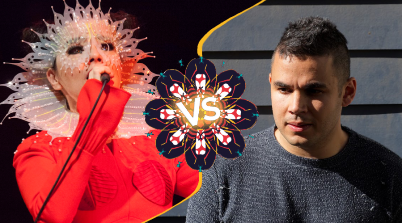 Bjork vs. Rostam - Bjork Photo by (Santiago Felipe)