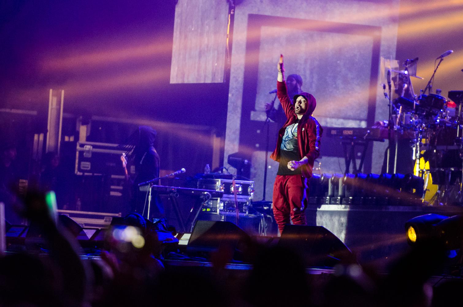 Eminem, photo by Ben Kaye