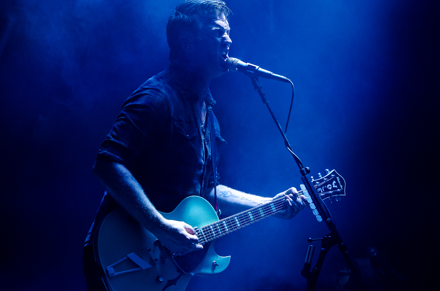 Queens of the Stone Age, photo by Ben Kaye