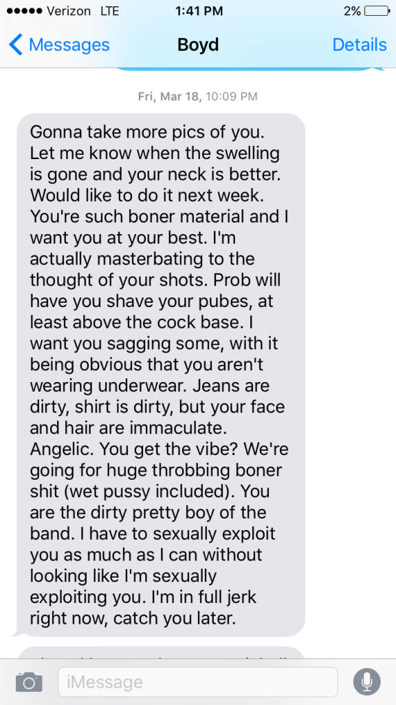 Boyd Tinsley Text Message Dave Matthews Band