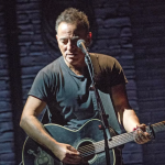 Bruce Springsteen on Broadway, photo by Rob Demartin