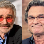 Burt Reynolds and Kurt Russell