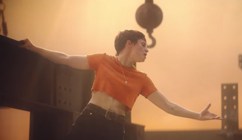 Christine and the Queens Girlfriend Video Construction Site