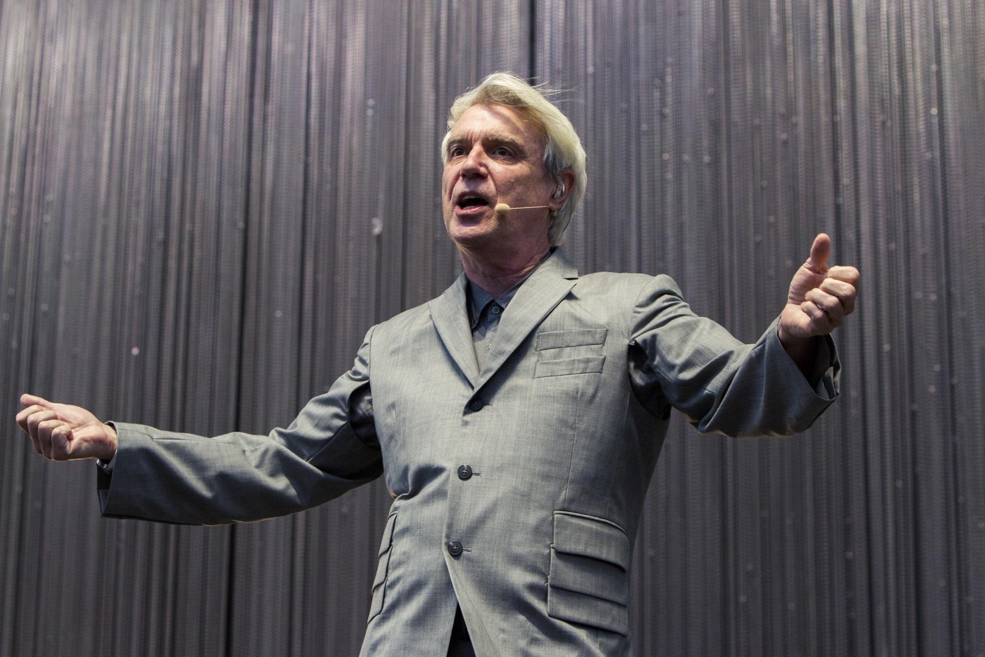 David Byrne - Photo by Caroline Daniel