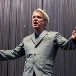 David Byrne, photo by Caroline Daniel