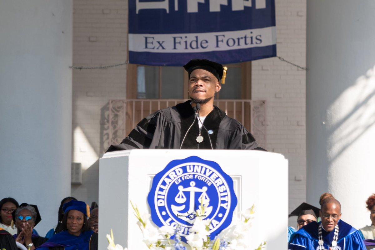 Chance the Rapper Commencement Speech at Dillard University