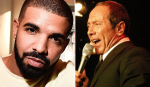 Drake Paul Anka Collaboration Microphone Beard