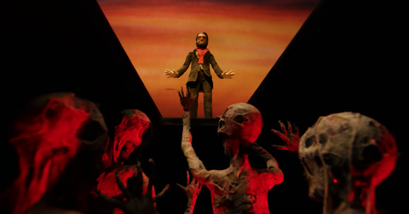 Father John Misty Please Don't Die Video Claymation Hell Grave