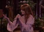 """Florence + the Machine perform """"Hunger"""" on Jimmy Kimmel Live!"""