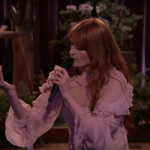 "Florence + the Machine perform ""Hunger"" on Jimmy Kimmel Live!"