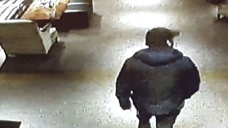 CCTV footage of Hutchison's last whereabouts (via Scotland Police)