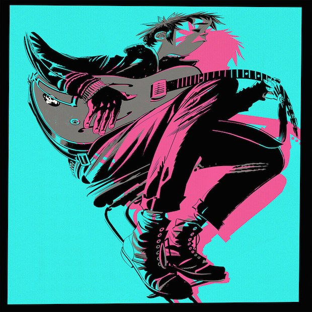 Gorillaz The Now Now Artwork