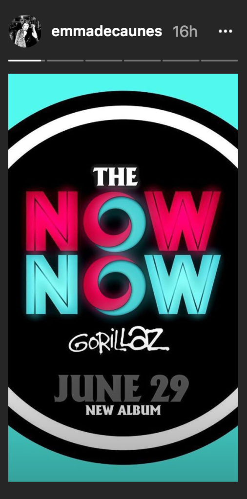 Gorillaz The Now Now Promo Art