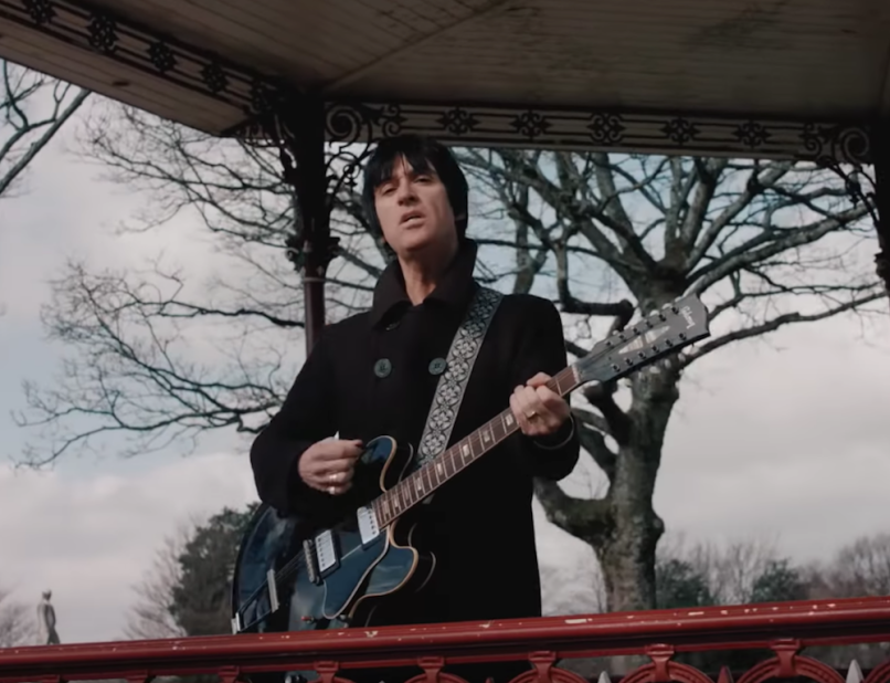 "Johnny Marr's ""Hi Hello"" video"