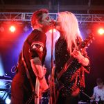 Jamie Hince and Alison Mosshart of The Kills