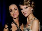 Katy Perry and (new) friend Taylor Swift