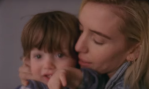 Lykke Li with her son