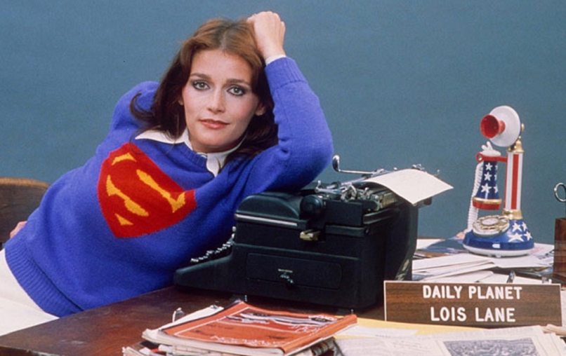 Margot Kidder Superman Lois Lane Typewriter Death
