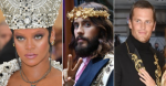 Rihanna, Jared Leto, and Tom Brady at the Met Gala