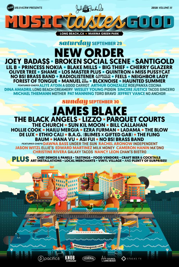 Music Tastes Good 2018 Lineup