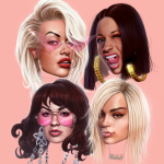 Rita Ora, Cardi B, Bebe Rexha, and Charli XCX -- Girls