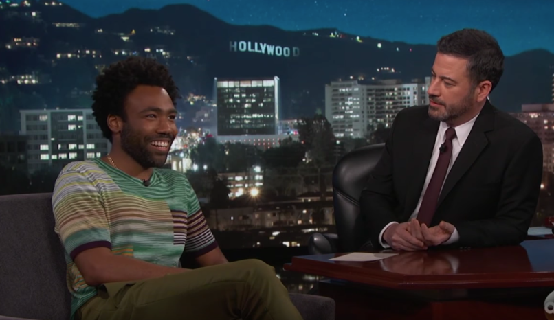 Donald Glover on Jimmy Kimmel Live!
