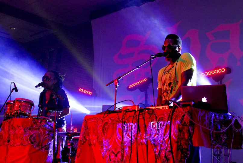 Shabazz Palaces at Moogfest 2018
