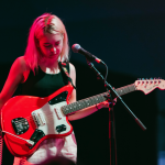 Snail Mail Guitar Red Light Photo by Natalie Somekh
