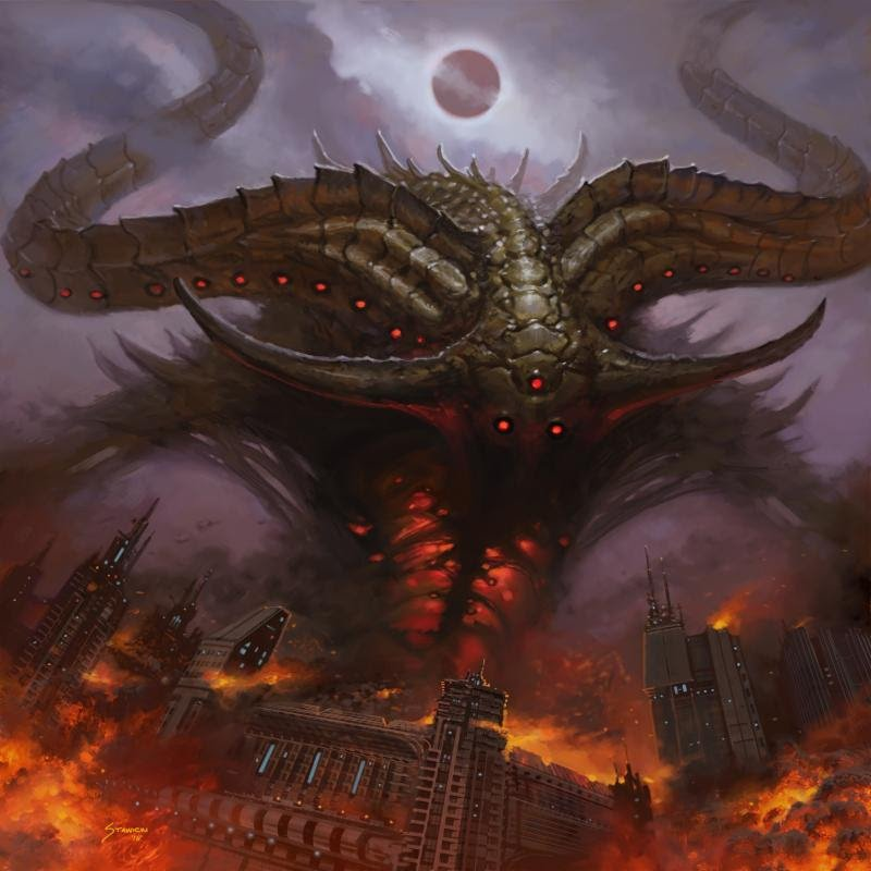 Thee Oh Sees Overthrown Smote Reverser Single Album Artwork Demon