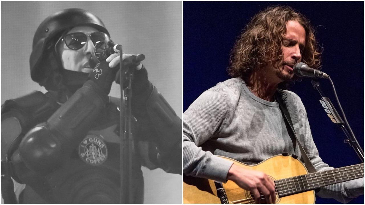 Maynard James Keenan and Chris Cornell