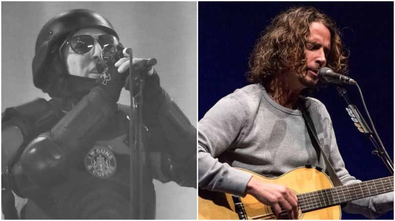 Maynard James Keenan and Chris Cornell
