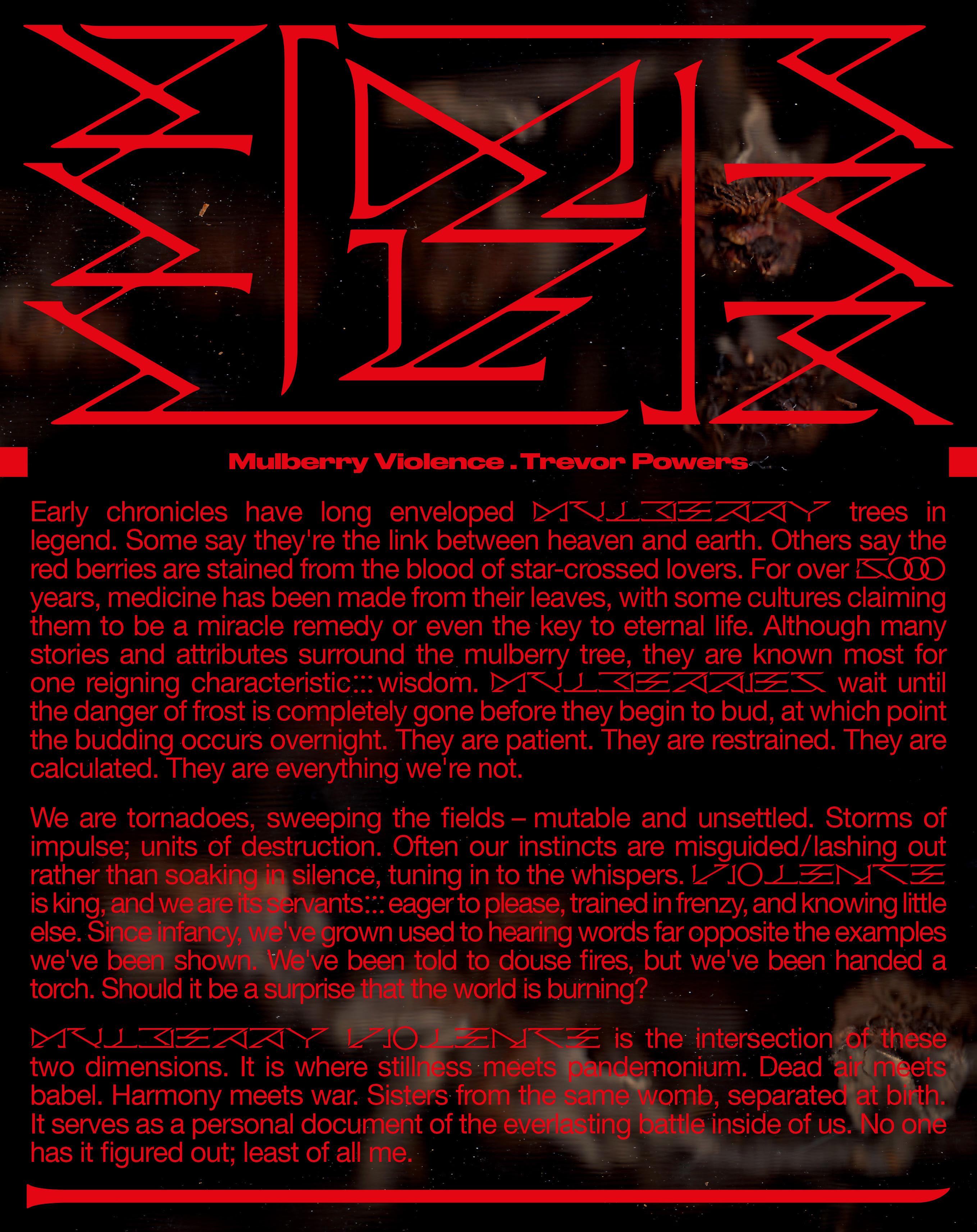 trevor powers album statement
