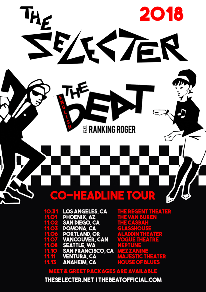 unnamed 17 The Selecter and The English Beat announce co headlining North American tour