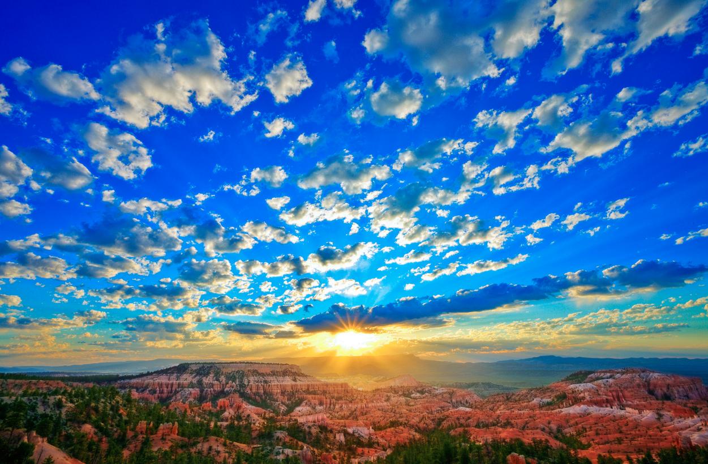 Utah Skies Sunrise Bryce Canyon
