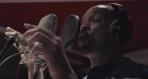 Will Smith in the studio