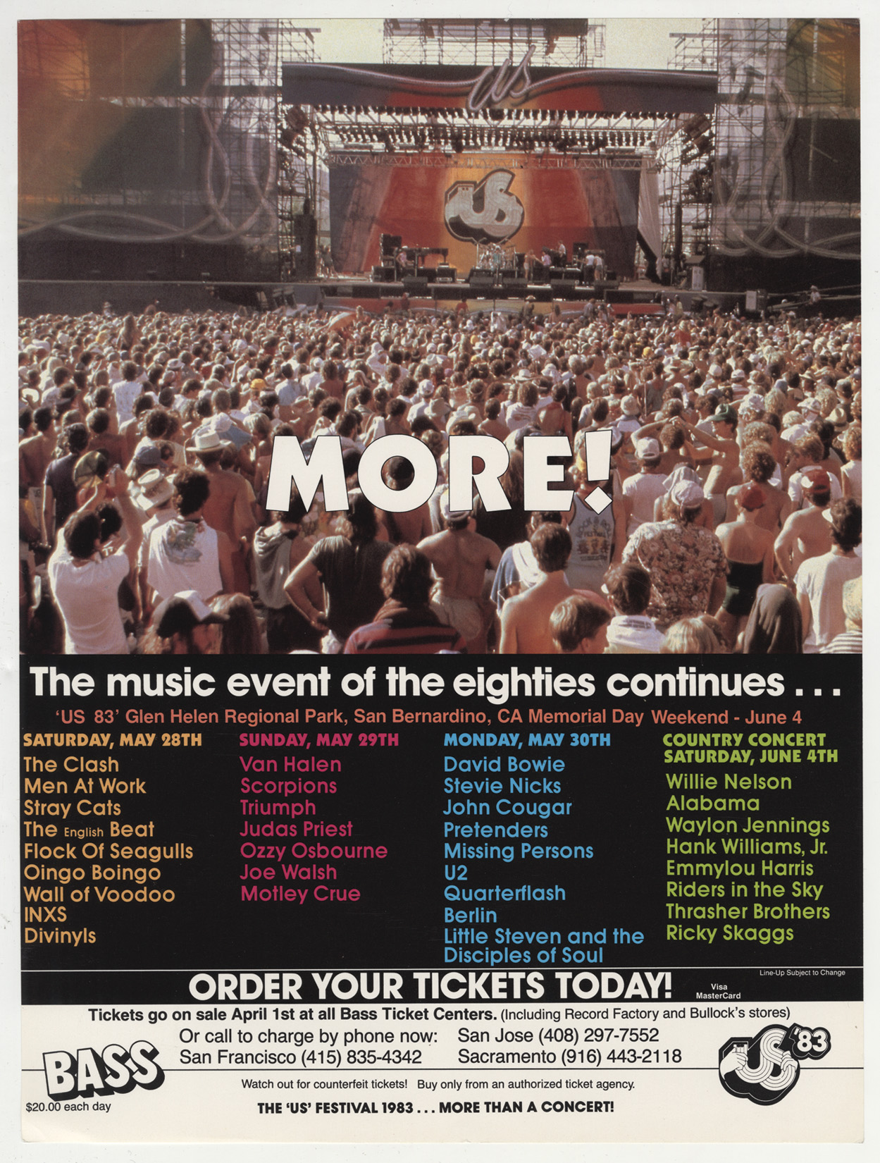 05. US Festival - 1983