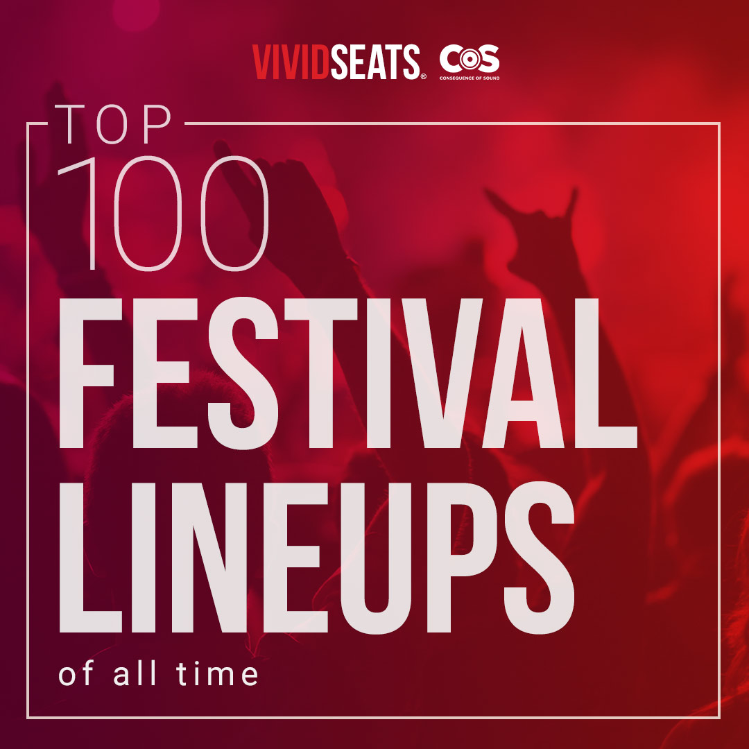 The Top 100 Festival Lineups of All Time
