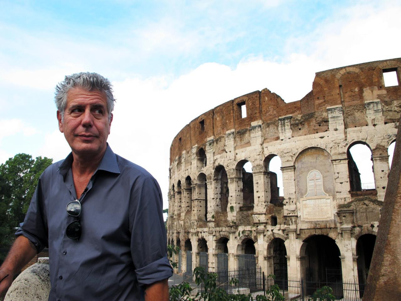 Anthony Bourdain in The Layover: Rome