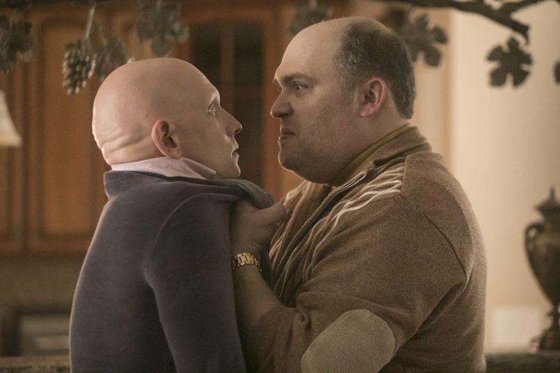 Anthony Carrigan, Glenn Fleshler in HBO's Barry