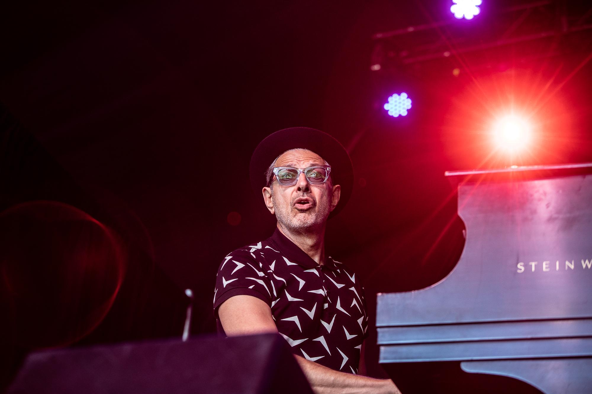 Jeff Goldblum, photo by Debi Del Grande