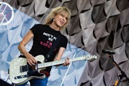 The Pretenders, photo by Debi Del Grande