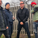 Beach Rats backyard barbecue punk supergroup band