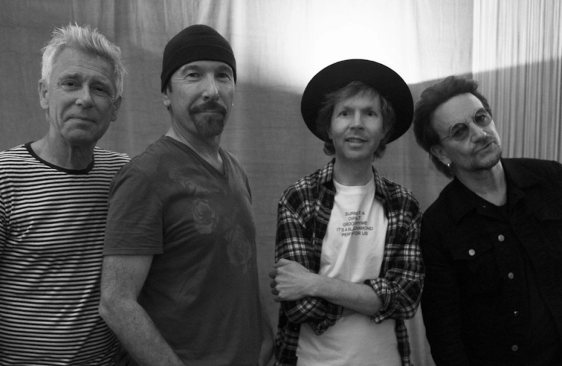"Beck remixes U2 ""Love Is Bigger Than Anything In Its Way"""