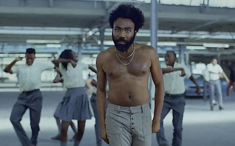 "Childish Gambino in ""This Is America"" Video"