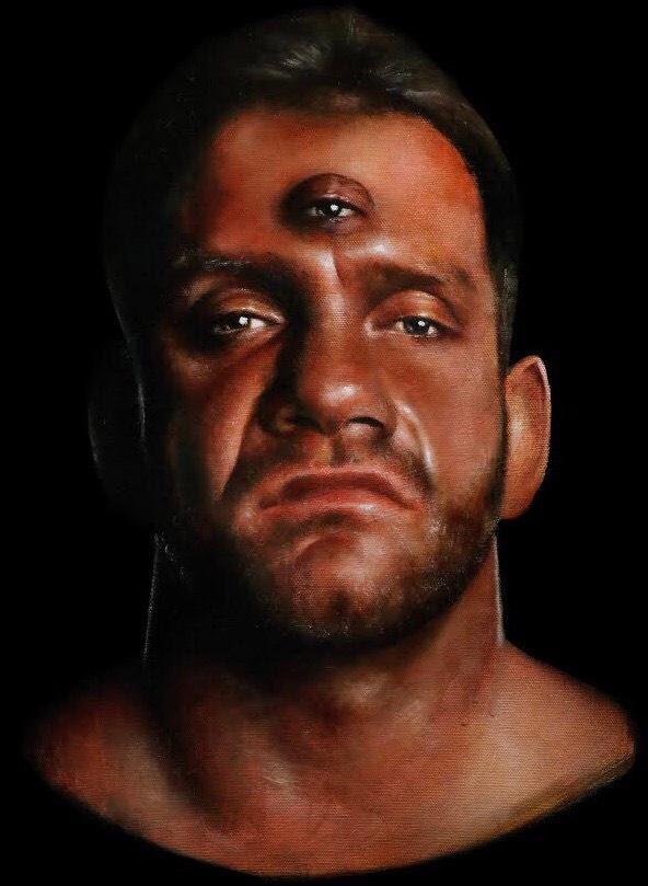 Chris Benoit third eye Westside Gunn album art artwork cover