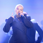 Christina Aguilera on The Tonight Show