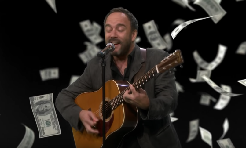 Dave Matthews tries his hand at trap rap with covers of Cardi B and
