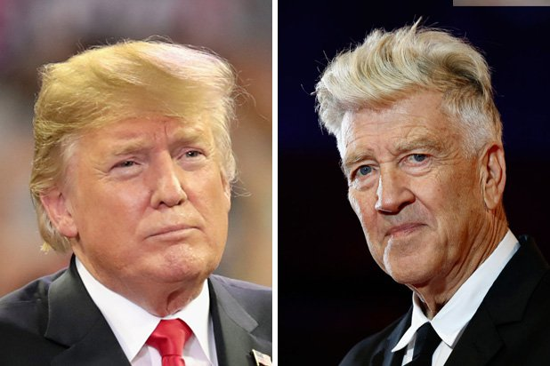 Donald Trump and David Lynch